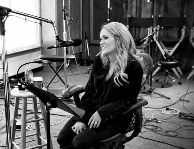 Carrie in Black and White