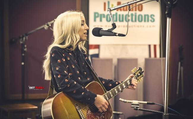 Ashley Monroe is special at Audio Productions